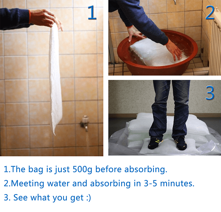 Alternative To Sandbags -Inflatable Flood Sandless Sandbag (1)