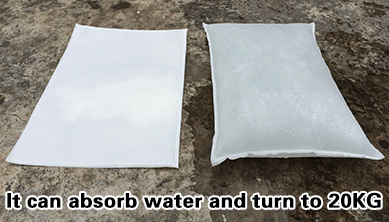 Alternative To Sandbags-Inflatable Flood Sandless Sandbag
